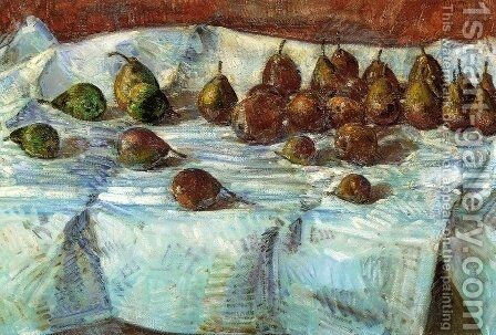 Winter Sickle Pears by Childe Hassam - Reproduction Oil Painting