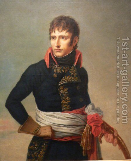 Portrait of Napoleon Bonaparte as First Consul, holding a sabre by Andrea, the Elder Appiani - Reproduction Oil Painting