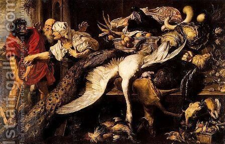 Filopomenes discovered by Frans Snyders - Reproduction Oil Painting