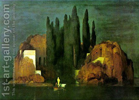 Island of the Dead by Arnold Böcklin - Reproduction Oil Painting