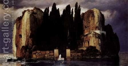 The Isle of the Dead by Arnold Böcklin - Reproduction Oil Painting