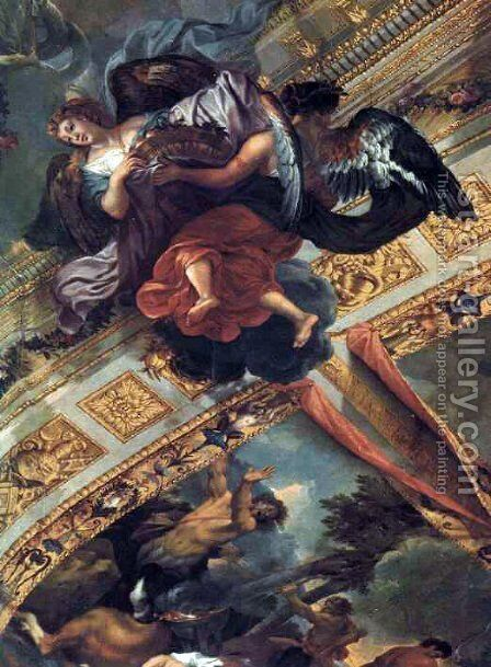 The Gallery of Hercules by Charles Le Brun - Reproduction Oil Painting