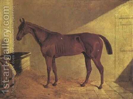 Margrave Winner St Leger 1834 by John Frederick Herring Snr - Reproduction Oil Painting