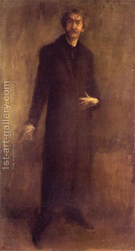 Self-Portrait by James Abbott McNeill Whistler - Reproduction Oil Painting