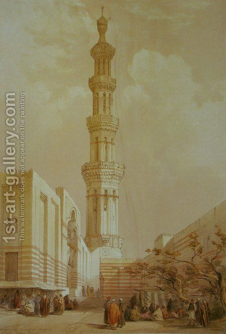 Egypt by David Roberts - Reproduction Oil Painting