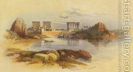Philae by David Roberts - Reproduction Oil Painting
