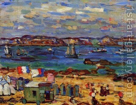St. Malo by Maurice Brazil Prendergast - Reproduction Oil Painting