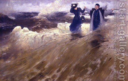 What freedom! by Ilya Efimovich Efimovich Repin - Reproduction Oil Painting