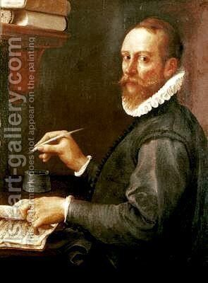 Portrait of Claudio Merulo by Annibale Carracci - Reproduction Oil Painting
