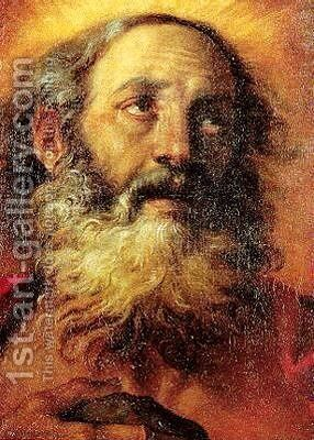 St. Girolamo by Annibale Carracci - Reproduction Oil Painting