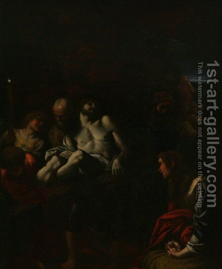 The Burial of Christ by Annibale Carracci - Reproduction Oil Painting