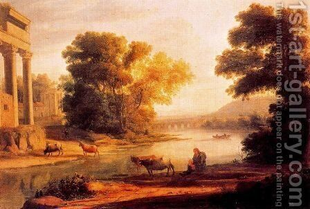 The ford 2 by Claude Lorrain (Gellee) - Reproduction Oil Painting