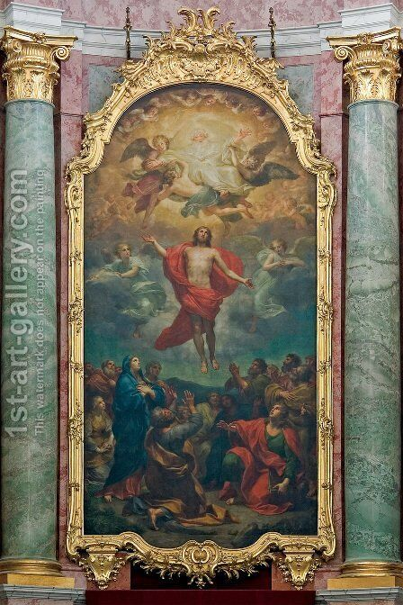 Altarpiece in the Dresden Hofkirche by Anton Raphael Mengs - Reproduction Oil Painting