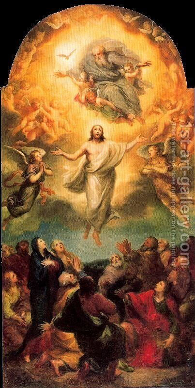 Ascension of Christ by Anton Raphael Mengs - Reproduction Oil Painting
