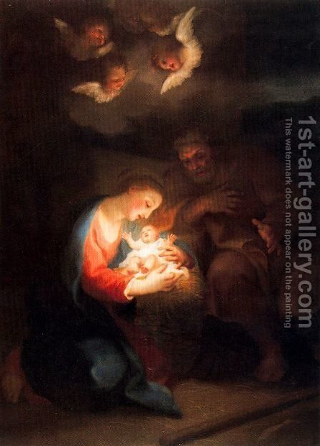 Birth of Christ by Anton Raphael Mengs - Reproduction Oil Painting