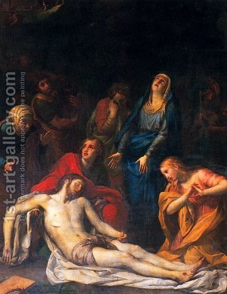 Deposition of Christ 2 by Anton Raphael Mengs - Reproduction Oil Painting