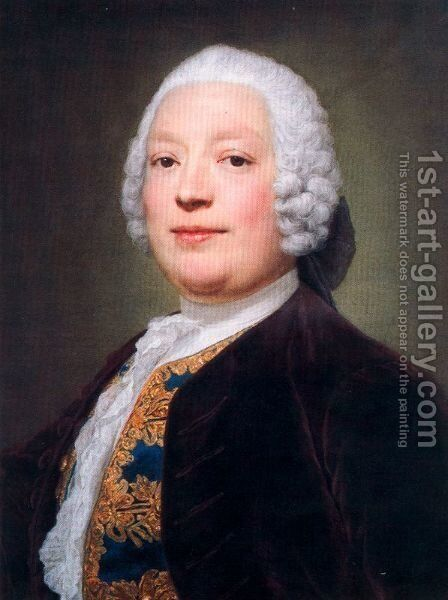 Domenico Annibali by Anton Raphael Mengs - Reproduction Oil Painting