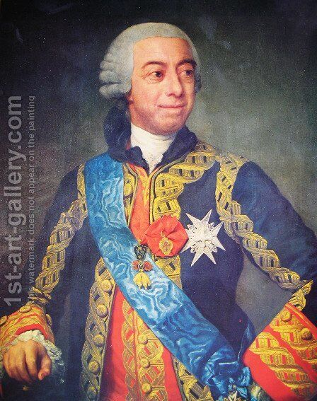 Fernando de Silva Alvarez de Toledo XII Duke of Alba and Huescar by Anton Raphael Mengs - Reproduction Oil Painting