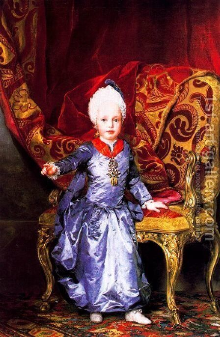 Francis of Austria by Anton Raphael Mengs - Reproduction Oil Painting