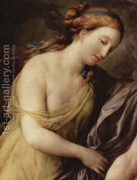 Perseus and Andromeda, Detail by Anton Raphael Mengs - Reproduction Oil Painting