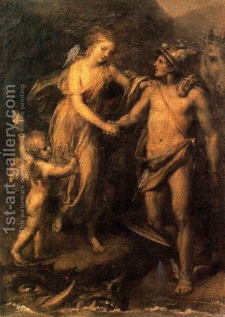 Perseus and Andromeda 2 by Anton Raphael Mengs - Reproduction Oil Painting