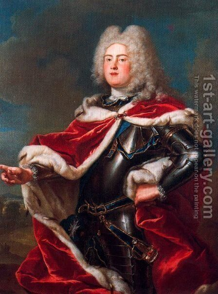 Portrait of Frederick Augustus II, Elector of Saxony by Anton Raphael Mengs - Reproduction Oil Painting
