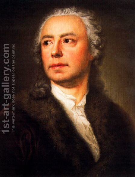 Portrait of Ismael Mengs by Anton Raphael Mengs - Reproduction Oil Painting