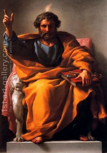 St. John the Baptist preaching by Anton Raphael Mengs - Reproduction Oil Painting