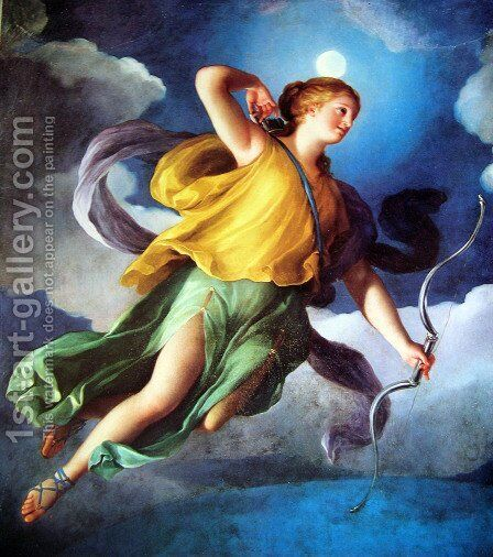 The night by Anton Raphael Mengs - Reproduction Oil Painting