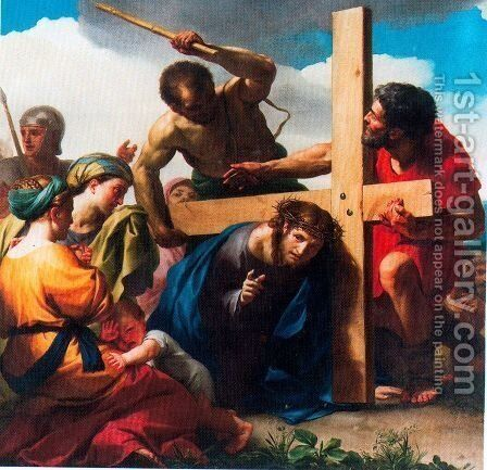 Way to Calvary by Anton Raphael Mengs - Reproduction Oil Painting