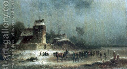 Consignment from parishes in Rotthal by Anton Doll - Reproduction Oil Painting