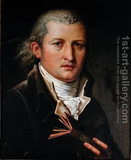 Portrait of Edward Jenner by Charles Meynier - Reproduction Oil Painting
