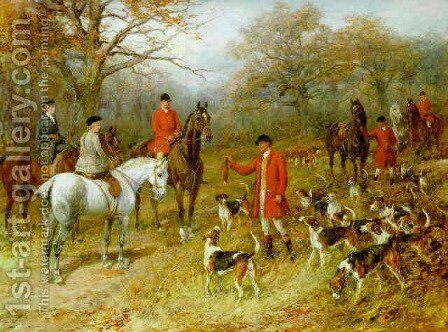 The presentation by Heywood Hardy - Reproduction Oil Painting