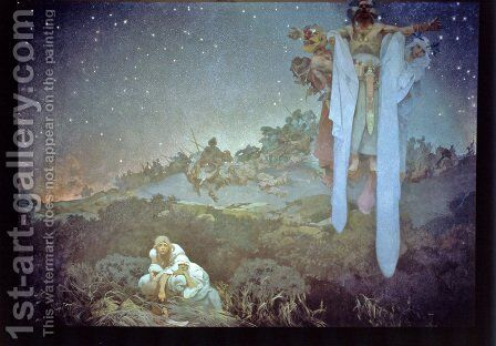 6th Sokol Festival by Alphonse Maria Mucha - Reproduction Oil Painting