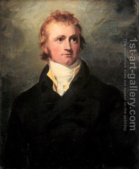 Alexander MacKenzie by Sir Thomas Lawrence - Reproduction Oil Painting