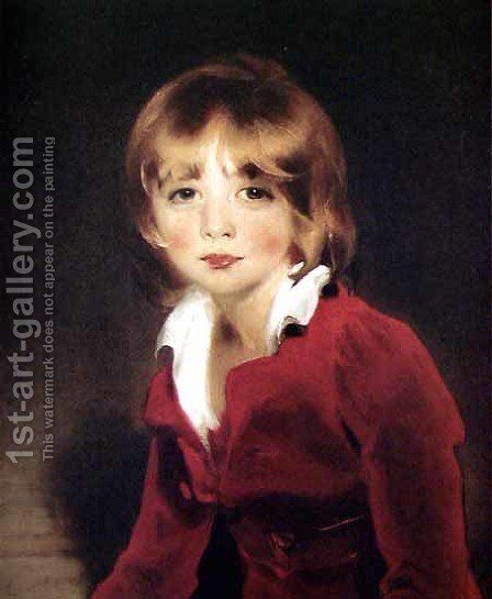 Children, Sir John Julian by Sir Thomas Lawrence - Reproduction Oil Painting
