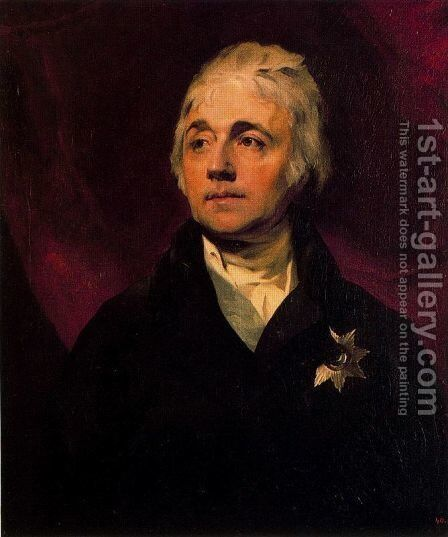 Count S. R. Vorontsov by Sir Thomas Lawrence - Reproduction Oil Painting