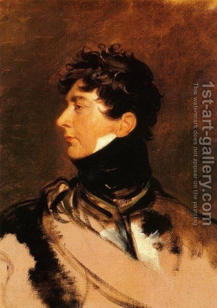 George IV of the United Kingdom as the Prince Regent by Sir Thomas Lawrence - Reproduction Oil Painting