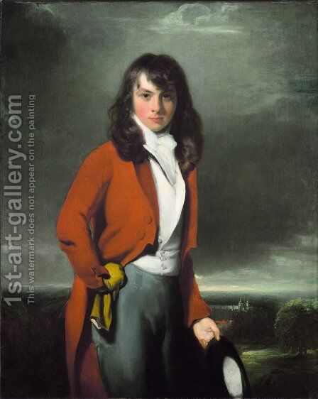 Portrait of Arthur Atherley as an Estonian by Sir Thomas Lawrence - Reproduction Oil Painting
