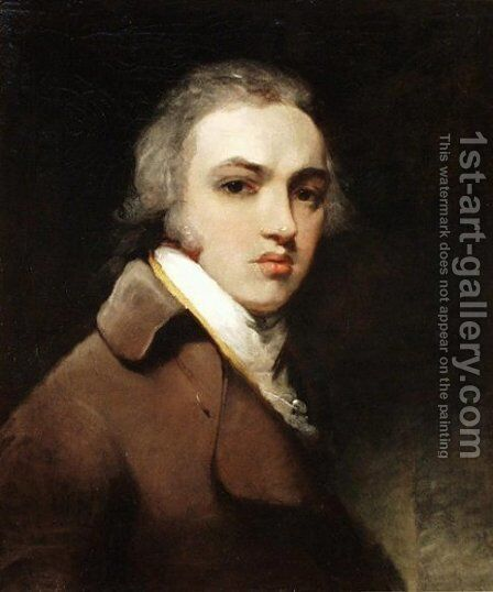 Self-portrait of Sir Thomas Lawrence by Sir Thomas Lawrence - Reproduction Oil Painting