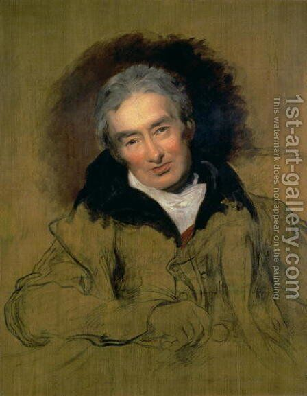 William Wilberforce by Sir Thomas Lawrence - Reproduction Oil Painting