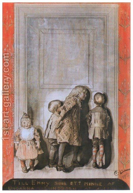 Day Before Christmas by Carl Larsson - Reproduction Oil Painting