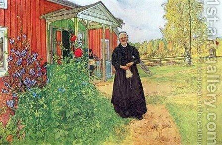Father And Mother by Carl Larsson - Reproduction Oil Painting