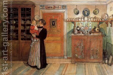 God's Peace by Carl Larsson - Reproduction Oil Painting