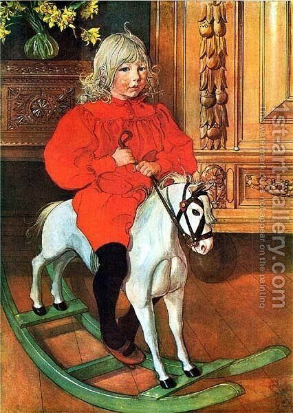 Murre by Carl Larsson - Reproduction Oil Painting
