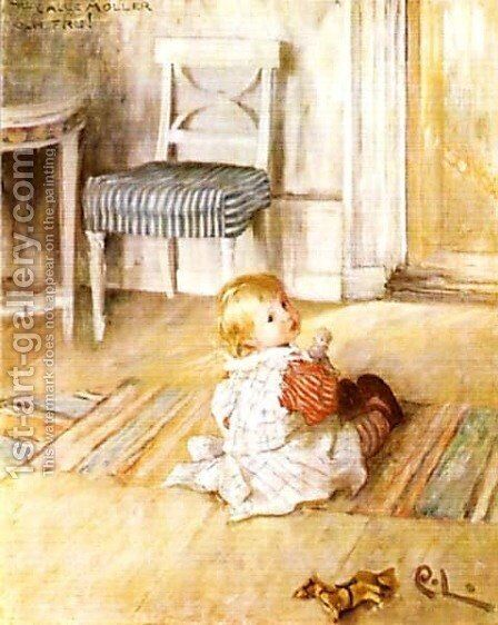 Pontus by Carl Larsson - Reproduction Oil Painting