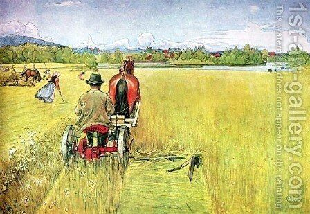 Summer, painting by Carl Larsson - Reproduction Oil Painting