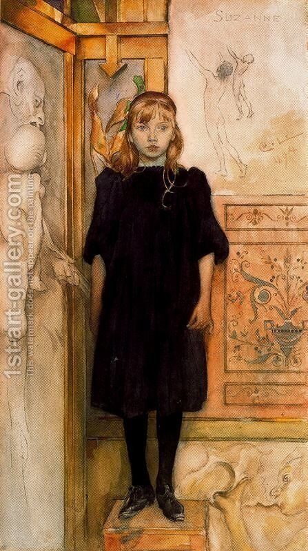 Suzanne by Carl Larsson - Reproduction Oil Painting