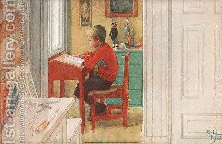 The New Book by Carl Larsson - Reproduction Oil Painting