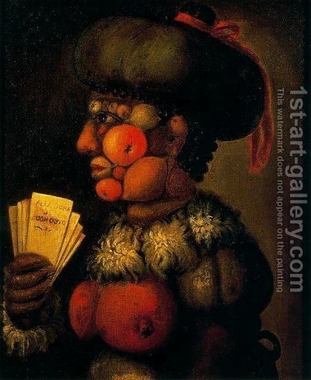 The Lady of Good Taste by Giuseppe Arcimboldo - Reproduction Oil Painting